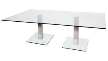 Doppio Tavolino 330 1500 x 900 mm, colore: satinato