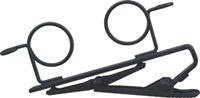 Shure Rk183T2 Dual Mount Tie-Clip For Mx183, Mx184, Mx185, Wl183, Wl184 And Wl185, Set Of 2