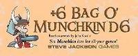 Steve Jackson Games SJG5514 Munchkin Plus 6 Bag O Munchkin D