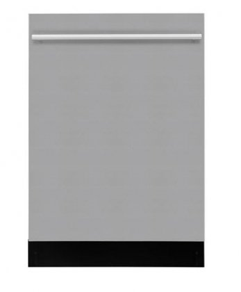 """Dwt55100Ss 24"""" Fully Integrated Built-In Dishwasher With 5 Wash Cycles 12 Place Settings 3 Wash Temps Static Drying System And 52 Dba Silence Rating In Stainless"""