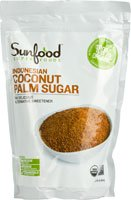 SunFood Coconut Palm Sugar Organic -- 1 lb