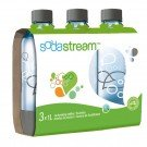 SodaStream 1L Carbonating Bottle Gray triple pack Brand SodaStream