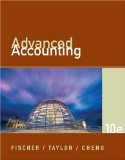 Advanced Accounting 10th Edition by Fischer, Paul M., Cheng, Rita H., Tayler, William J. [Hardcover] (Advanced Accounting 10th compare prices)