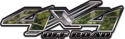4x4 Offroad Decals Real Camo - 4