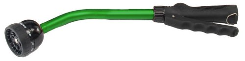 Dramm 13864 Kaleidoscope Rain Wand 16-Inch Length with Touch-N-Flow Valve, Green