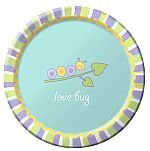 "Love Bug 7"" Lunch Plate - 8/Pkg. - 1"