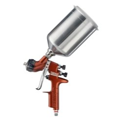 ITW Devilbiss (DEV703662) Tekna Copper Gravity Feed Spray Gun with 1.3 and 1.4 Needle (Devilbiss Gravity Spray Gun compare prices)