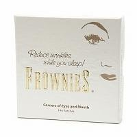 Frownies Facial Pads, Use on Corners of Eyes & Mouth, White Packaging, 144 ea