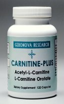 Carnitine Plus 120 cap - Geronova