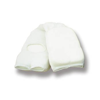 Martial Arts Childrens Elasticated Cotton Double Padded Hand Mitts - XS