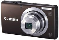21yiMG87t0L Canon PowerShot A2400 IS 16.0 MP Digital Camera with 5x Optical Image Stabilized Zoom 28mm Wide Angle Lens with 720p Full HD Video Recording and 3.2 Inch Touch Panel LCD (Silver)