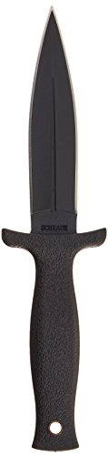 Schrade SCHF19 Small Boot Double Edge Fixed Blade Knife