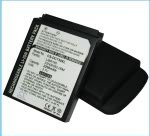 Replacement battery for LIBR160, 35H00082-00M O2 XDA Atoms Extended with back cover LIBR160, 35H00082-00M Dopod C500 Extended with back cover LIBR160, 35H00082-00M Orange SPV E650 Extended with back cover LIBR160, 35H00082-00M HTC VOX, S710 Extended with