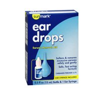 Image of Sunmark Sunmark Ear Drops Earwax Removal Kit (B0088W7VOA)