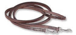 Ovation English Leather Breastplate Draw Reins (English Draw Reins compare prices)