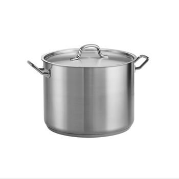 Tramontina ProLine 16 Qt. Stainless Steel Covered Stock Pot