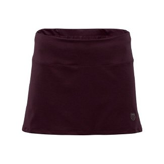 K-Swiss Women's Wrap Seam Skirt Skort,Brilliant Blue