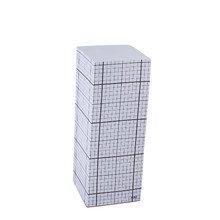 Hay - Tower Block Notizblock, schwarzes Raster auf weiß, 20cm