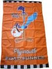 NEOPlex 3' x 5' Plymouth Road Runner Vertical Flag