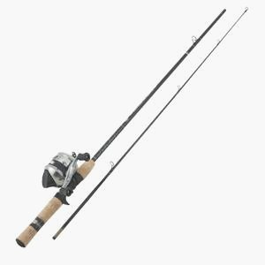 Zebco 33J/ZAS602M Spincast Fishing Rod and Reel Combo