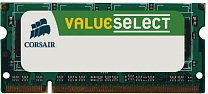 Mémoire vive SO-DIMM DDR2 (800 MHz 5-5-5-15 200 pin) pour ordinateur portable, Corsair ValueSelect, kit de 4 Go (2x2Go)