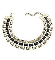 Limited Collection Enamel Link Collar Necklace
