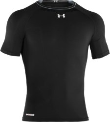 Boys' HeatGear® Sonic Fitted Short Sleeve Tops by Under Armour