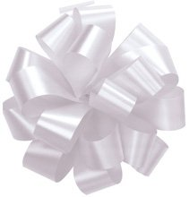 Bows, WHITE Gift Bows Set of 10 Medium 5
