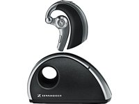 Sennheiser VMX 100 Office Bluetooth-Kopfhörer (VoiceMax-DSP und duale Microfontechnologie, PKW-Adapter, USB 2.0) grau