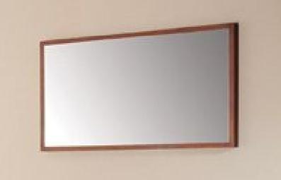 Xylem M-Blox-30Dw Blox Mirror, Dark Walnut, 30-Inch front-41489