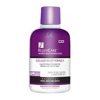 Rejuvicare Liquid Collagen Complex Beauty Formula for Healthy Hair,skin and Nails with Amino Acids,elastin and Pantethine B-5,( Grape Flavor) 16 Fl.oz