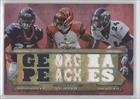 Champ Bailey/A.J. Green/Knowshon Moreno #22/36 Cincinnati Bengals, Denver Broncos (Football Card) 2012 Topps Triple Threads Relic Combos #TTRC17