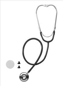 Cheap Dual-Head Stethoscope (black) (MDS92620)