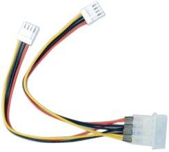 オウルテック 電源変換分岐ケーブル 15cm OWL-CBPU021