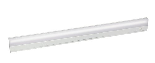 10043WH TaskWork Direct Wire 35IN 21W Fluorescent Undercabinet Light, White Finish with White Diffuser