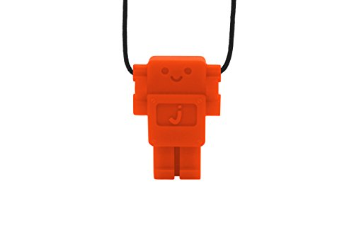 Jellystone Robot 13 Pendant Teether Kids Necklace - Carrot (Jellystone Robot Teether compare prices)