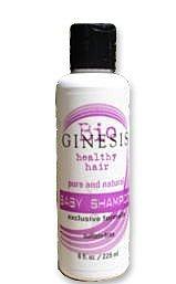 Ginesis Natural Baby Shampoo, 8 Ounce
