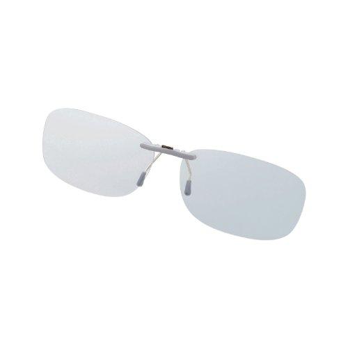 Elecom Blue Light measures Glasses PC GLASSES (47% cut) (clip-on type ? M size) OG-CBLP01GYM (Elecom Blue Light compare prices)