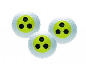 Golfballset BLIND, Golfball und Golfbälle, lustiges Golfmotiv