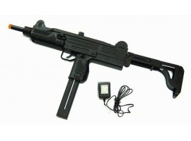 250 fps Auto Electric Airsoft UZI Machine Gun
