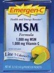 Alacer Emergen-C Lite MSM, MSM 30 Pkts