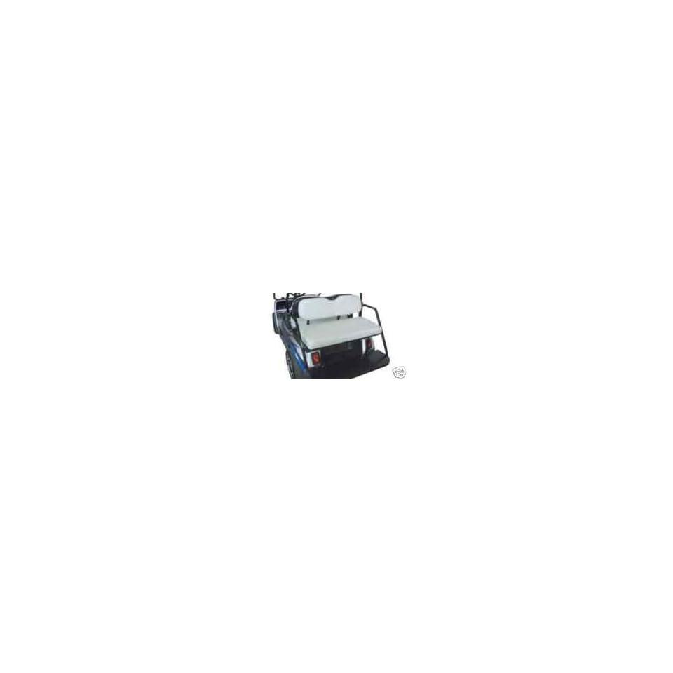Club Car Golf Cart Back Rear Seat Kit Stationary Steel