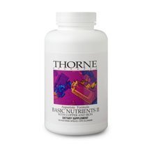 Basic Nutrients Iii (Without Copper And Iron) 180 Capsules