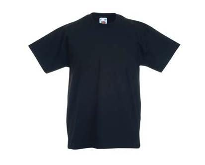 Kinder T-Shirt Valueweight; Schwarz,164 164,Schwarz
