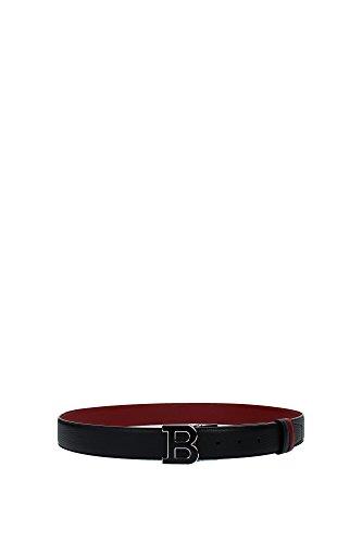 ceintures-bally-homme-cuir-noir-et-rouge-620012800015b-noir-unica