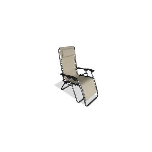 Caravan Canopy Zero Gravity Beige Chair Indoor And Outdoo Relaxation  26X24X46 IN (80009000151)