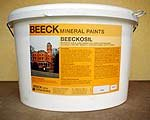 Beeckosil Silicate Paint 12.5 Litres Colours 3 light olive green
