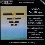 img - for Marttinen - Symphony No.1, Violin Concerto, Symphony No.8 (World Premiere Recording) book / textbook / text book
