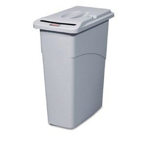 rubbermaid-slim-jim-confidential-document-container-with-lid-gray-by-rubbermaid-commercial