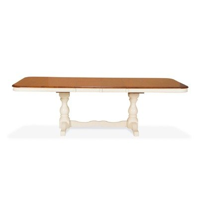 madison park double pedestal dining table with butterfly leaves